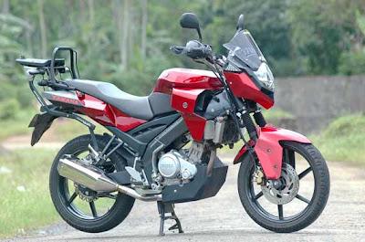 Modifikasi Yamaha Vixion Modif Touring traill