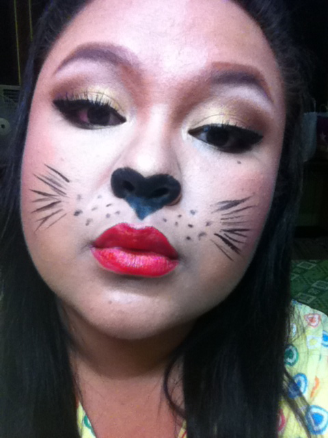 Sexy Cat Makeup For Halloween Halloween Makeup Colla...
