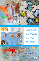 Welcome to Mommyhood: under the sea toddler activities