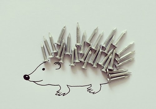15-Porcupine-Illustrator-Javier-Pérez-aka-cintascotch-Design-in-Real-World