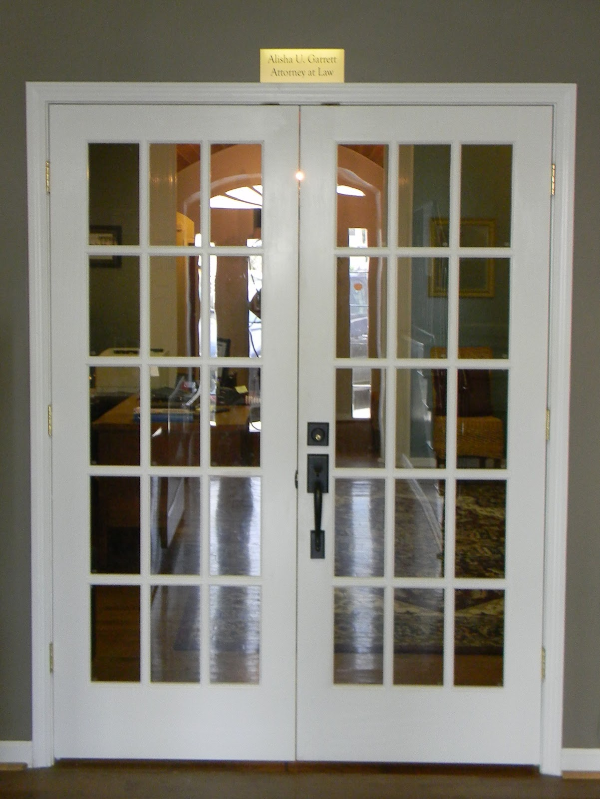Small interior french doors quotes for Small entry door