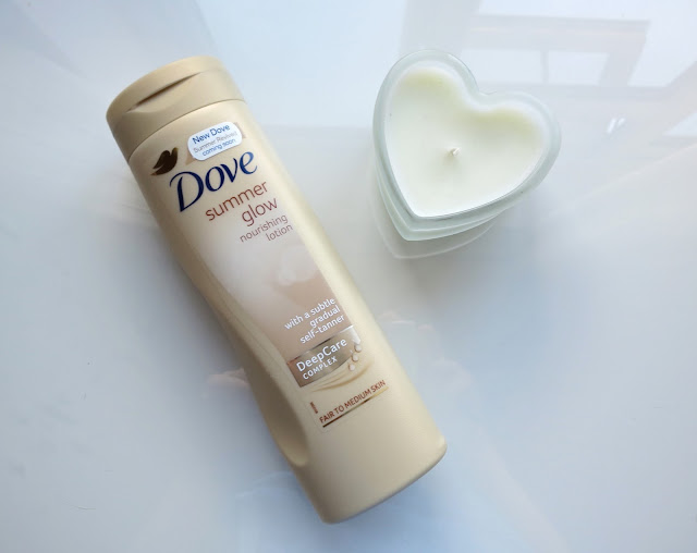 Dove Summer Glow Nourishing Lotion