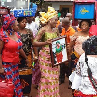 chioma chukwuka mom burial