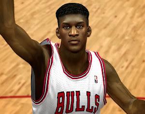 NBA 2k14 Jimmy Butler Cyberface Patch