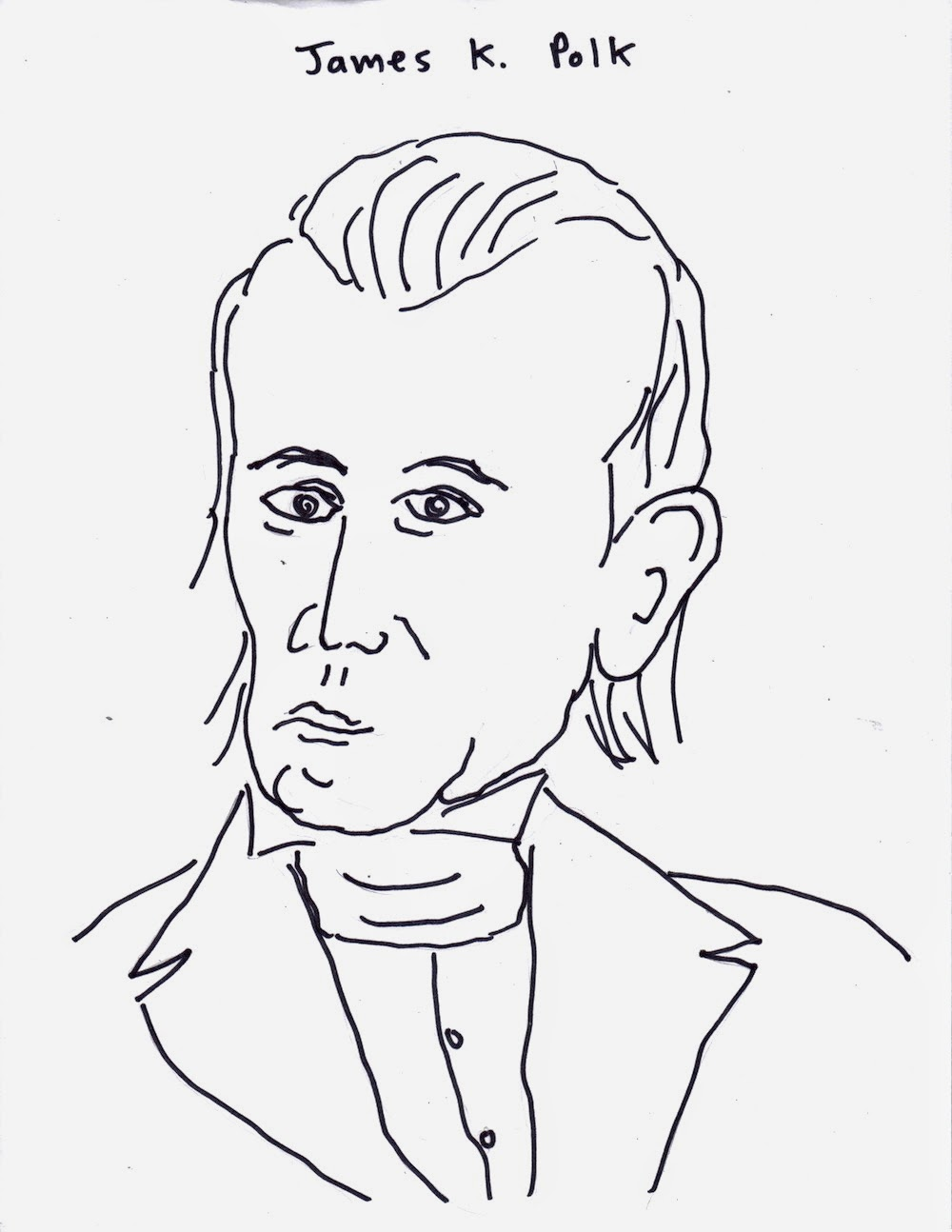 james k polk coloring pages - photo#16