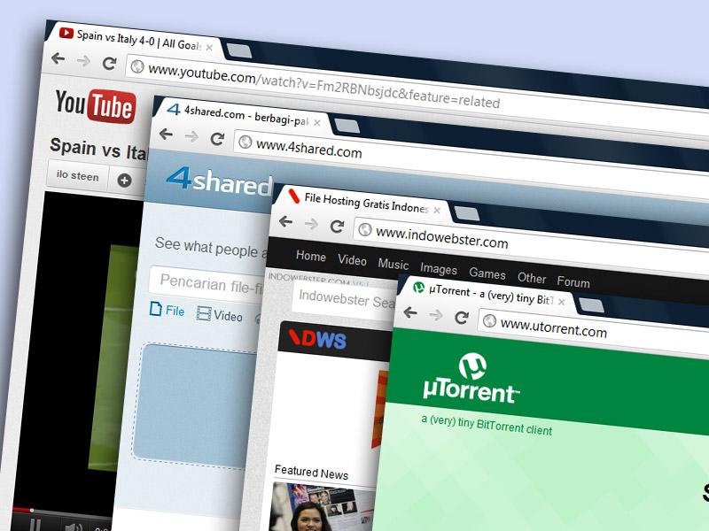 Cara Mendownload File dari Berbagai Situs Internet