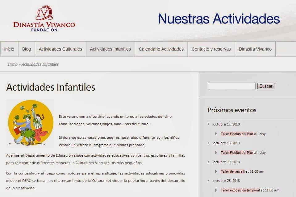 Imagen-Actividades-Infantiles-Dinastia-Vivanco