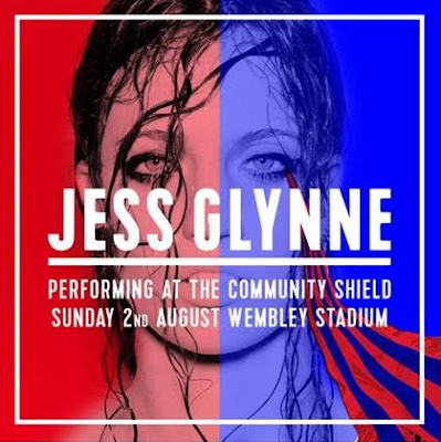 JESS GLYNNE TO PERFORM @ THE COMMUNITY SHIELD!