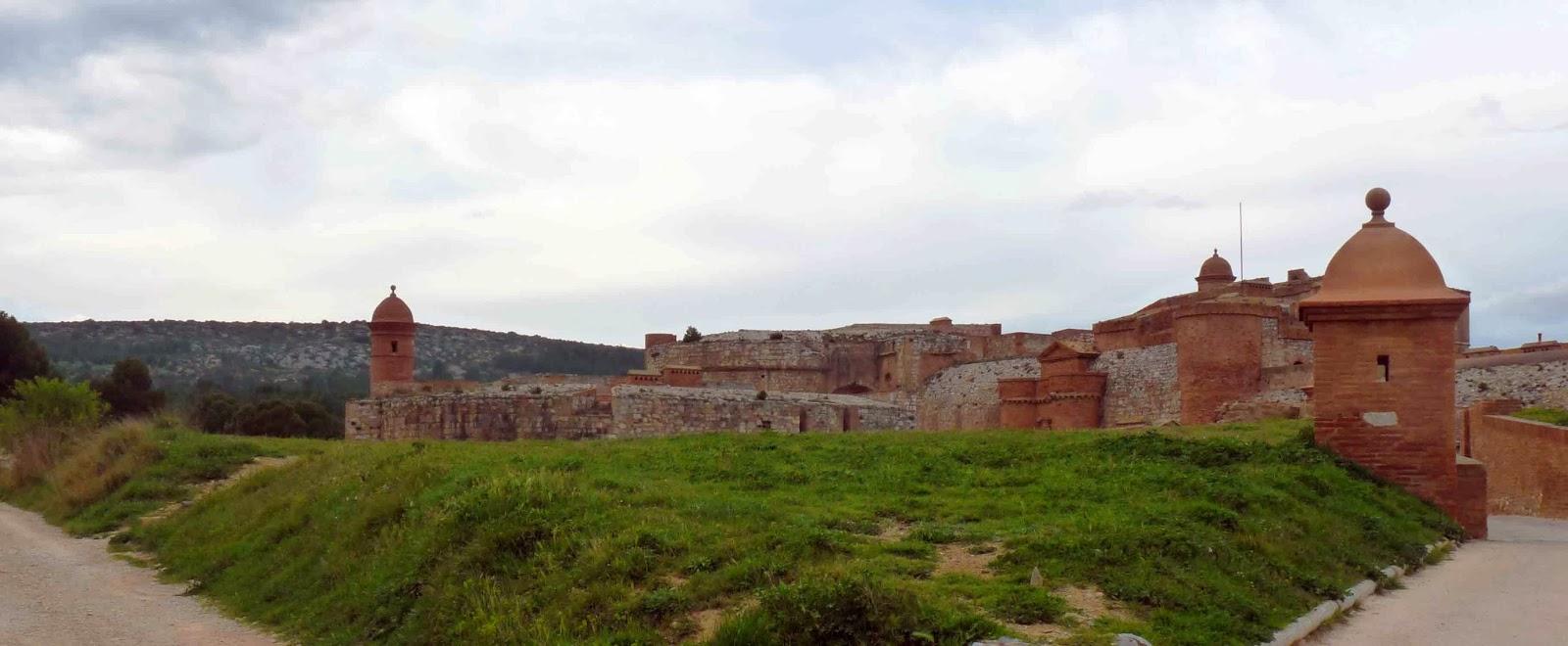 Vista exterior de la fortalesa