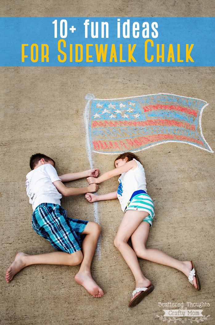 Summer Boredom Busters: 10+ Fun and Creative Sidewalk Chalk Ideas!
