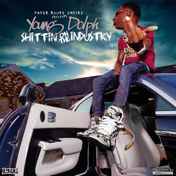 Young Dolph - Shittin On the Industry Cover