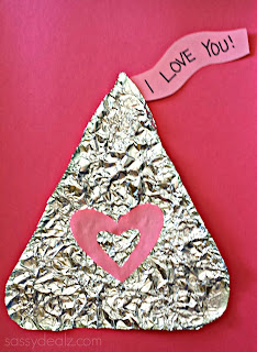 Hugs N Kisses Hershey Craft Tin Foil Hershey Kiss Craft