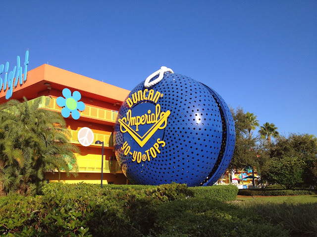 Pop Century Building Disney