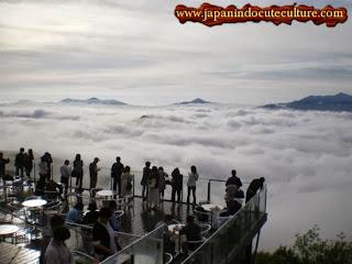 Restoran langit unkai terrace of tomamu