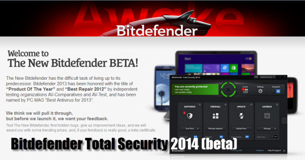 Free Bitdefender Total Security 2014 90 days
