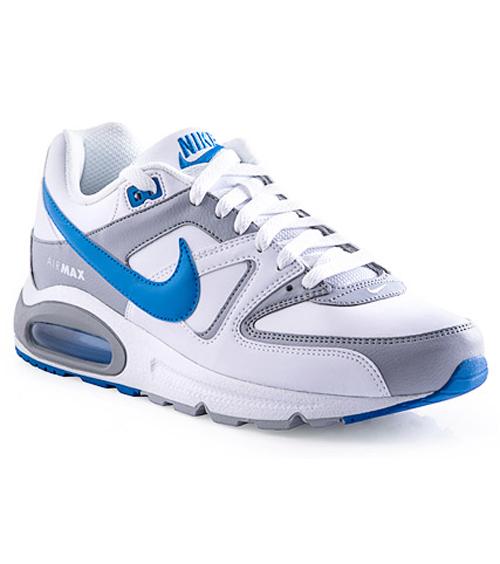 Mens Nike Air Max Command  WhiteBlueGrey