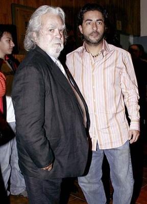 Raúl Araiza junto a su padre del mismo nombre