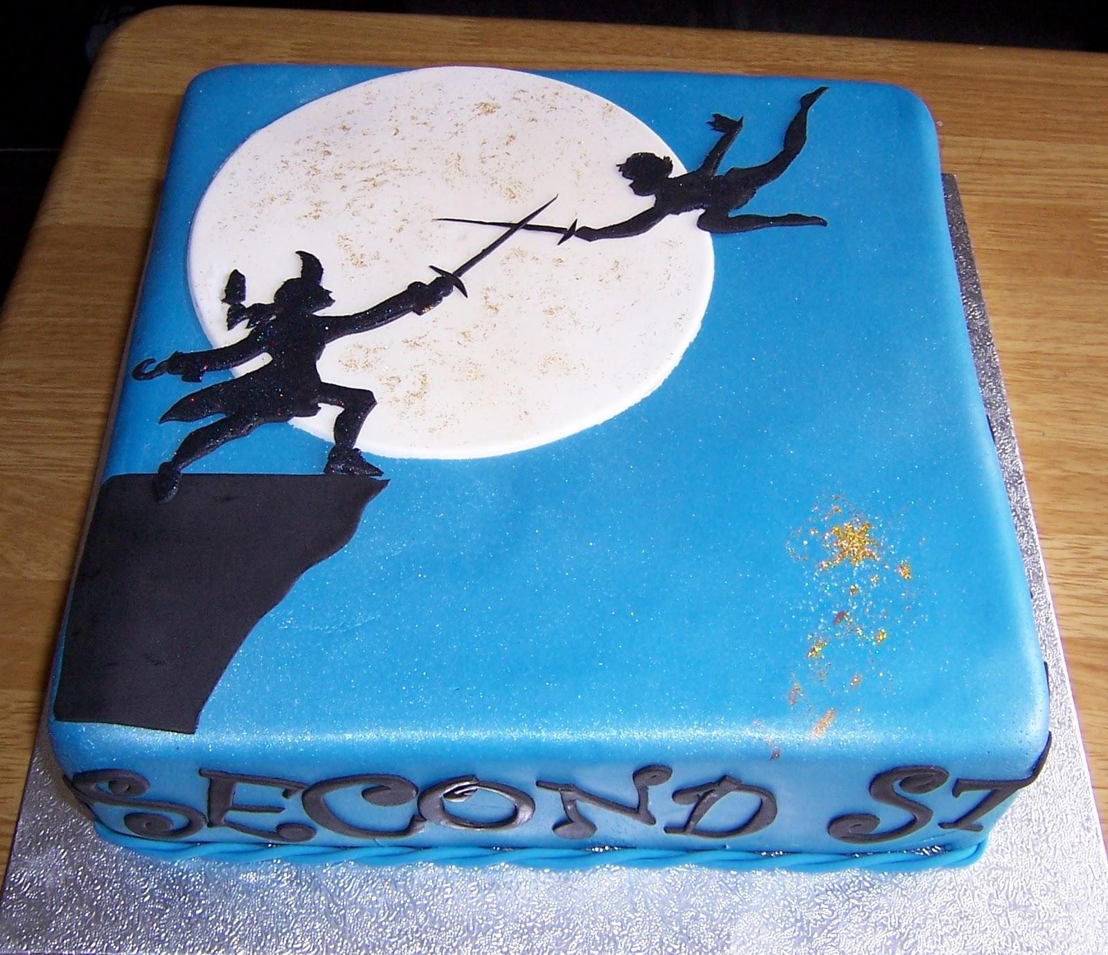 Captain Hook Birthday Cakes