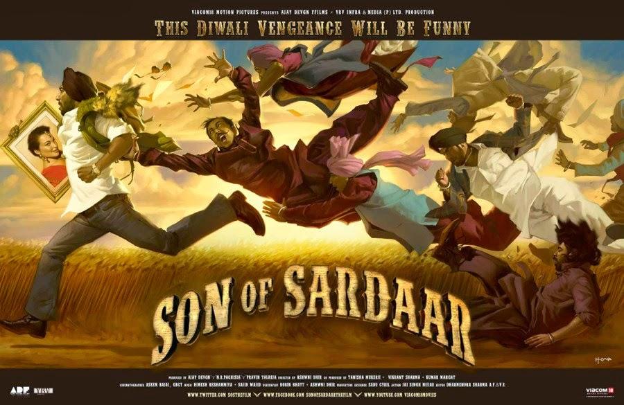 Son of sardar songs