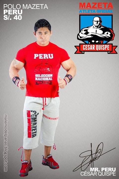 Ko Ryu aka Cesar Quispe Estela Peruvian bodybuilder