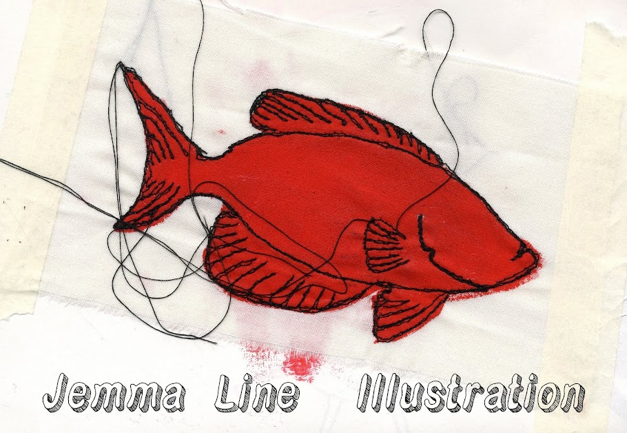 Jemma Line Illustration