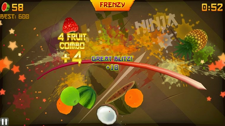 Preview Fruit Ninja | Andromin