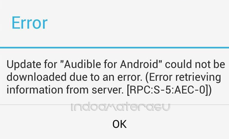Kode Error Google Play
