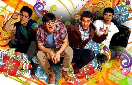"""The Reunion"" boys Enchong Dee, Enrique Gil, Kean Cipriano, and Xian Lim on ""Sarah G. Live!""  (August 5)"