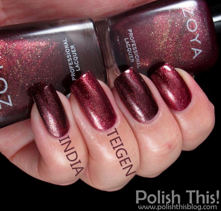 Zoya Ignite Collection Comparisons - Polish This!