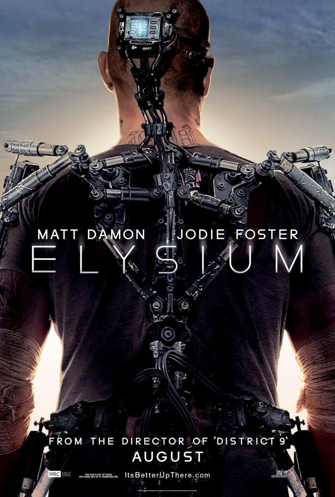 Elysium filmposter
