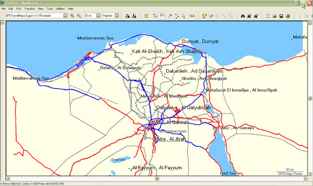 How To Download Maps of Egypt For Your GPS