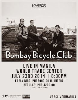Bombay Bicycle Club Live in Manila