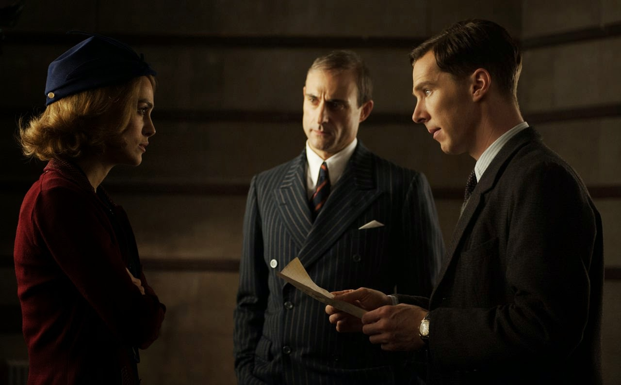 the imitation game-keira knightley-mark strong-benedict cumberbatch