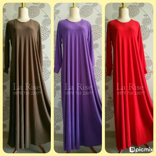 la rise shop gamis payung jersey