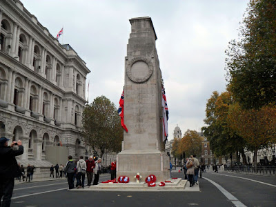 The Cenotaph, respecting our War dead