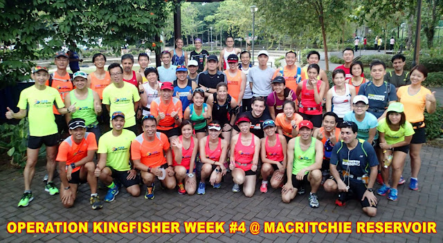 Kingfishers tackled trails and rolling hills in Week #4
