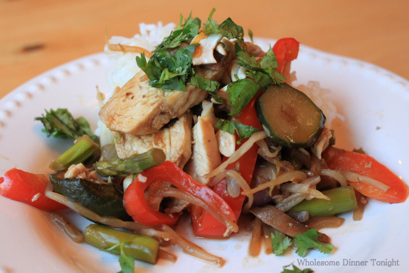 Summer Vegetable Stir-Fry Recipe — Dishmaps