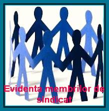 Evidenta membrilor-uz intern Filiala. Pot viziona: BO, vicepresedintele CD zonal