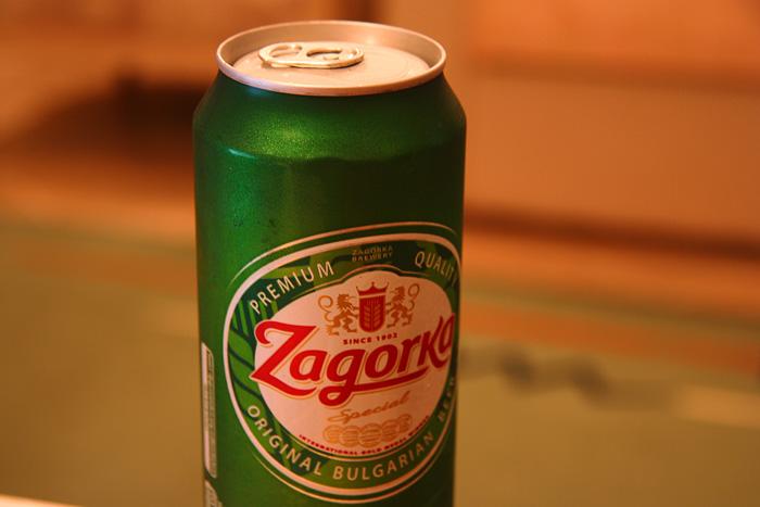 Zagorka beer