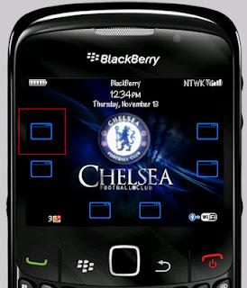 Tema Chelsea untuk BB 8520
