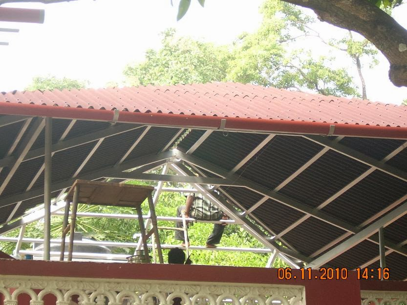 Ithiparambil Industries - Roofing Sheet Works - Truss Works - Iron ...