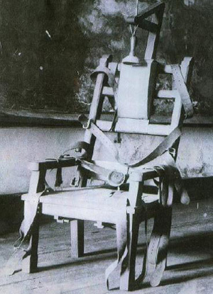 Electric chair aftermath kemmler s electric chair or