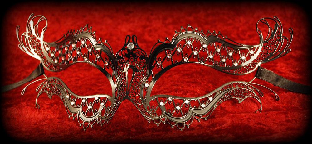 Katherine Filigree Masquerade Mask - Vampire Diaries