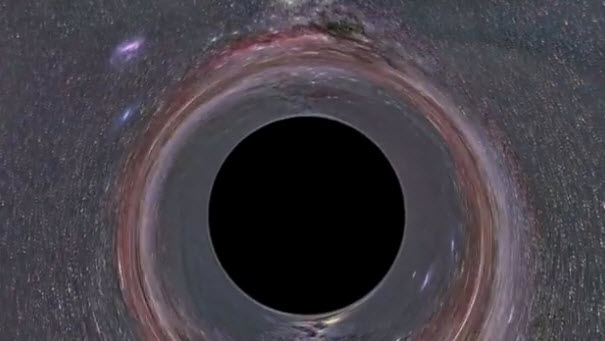 Travel inside a black hole! ~ Media Spin!