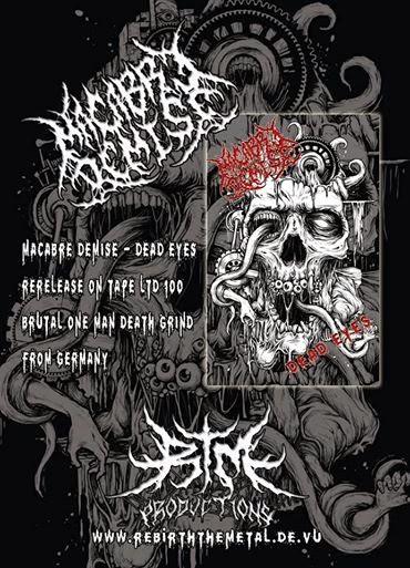 RTM056 Macabre Demise - Dead Eyes Tape