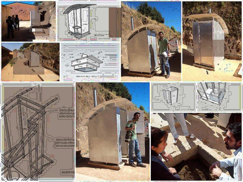 Diseno De Baño Rural: : diseño y construcción de baños ecológicos para escuela rural
