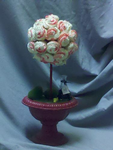 Chocolate topiary can be made as well The one below from Creative Quality