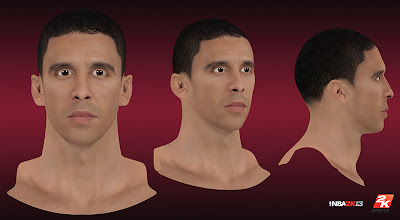 NBA 2K13 Pablo Prigioni Cyberface Patch