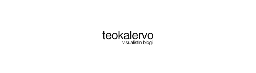 Teo Kalervo - Visualistin Blogi