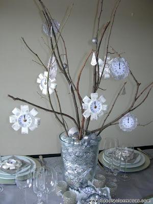 Decoracion de mesas diciembre 2011 for Mesa de fin de ano